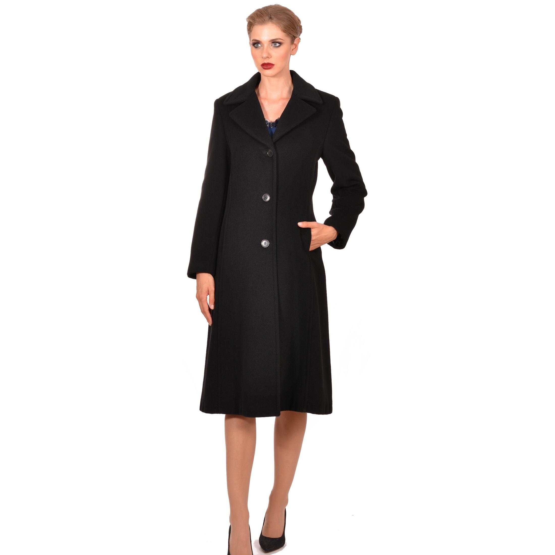 women's classic coat, ženski klasični dugi kaput m woman by maria fashion