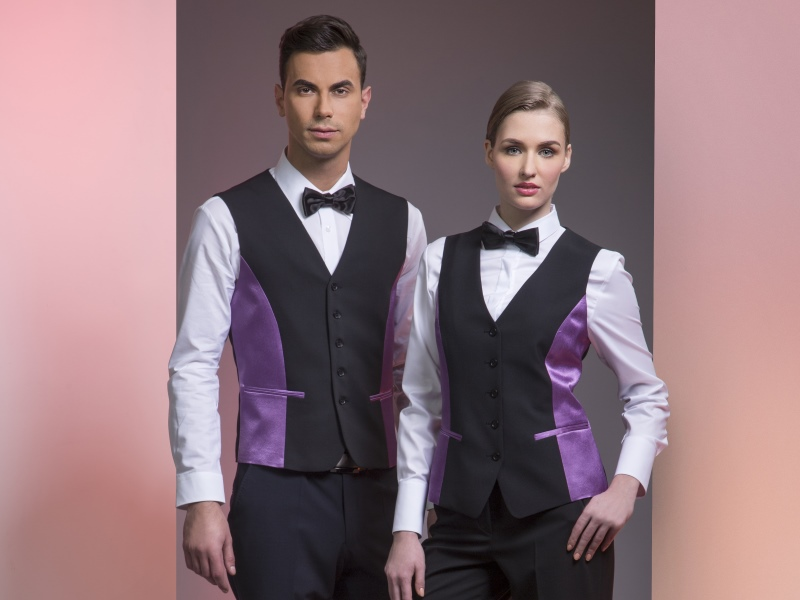 High quality business suits for waiters - M Corp by Maria fashion company