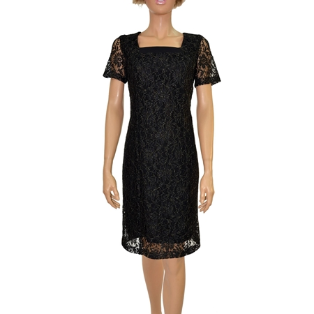 Picture of Women's Dress - LM451438 BLACK 'N' GOLD