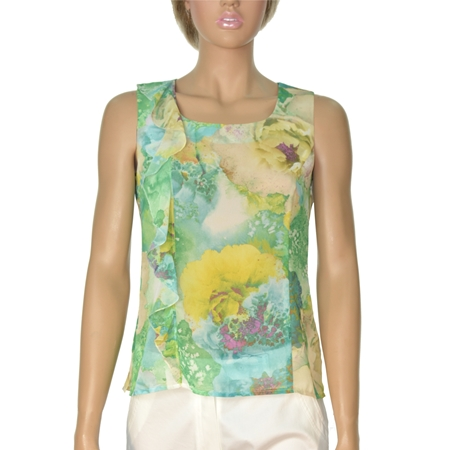 Picture of Women's Top - LM461430 GREEN