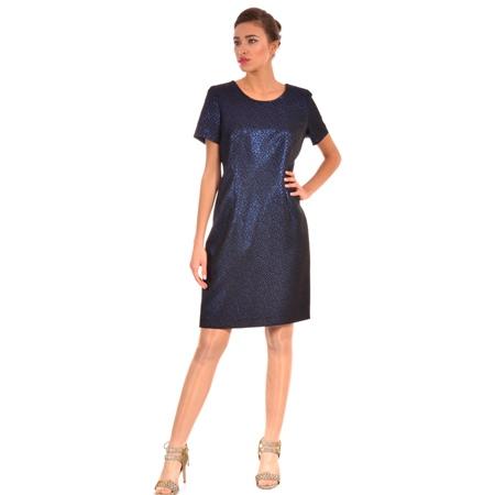 ženska haljina plava svečana