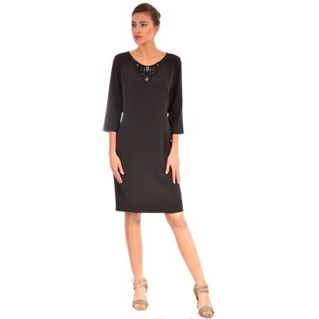 ženska crna haljina, women's black dress