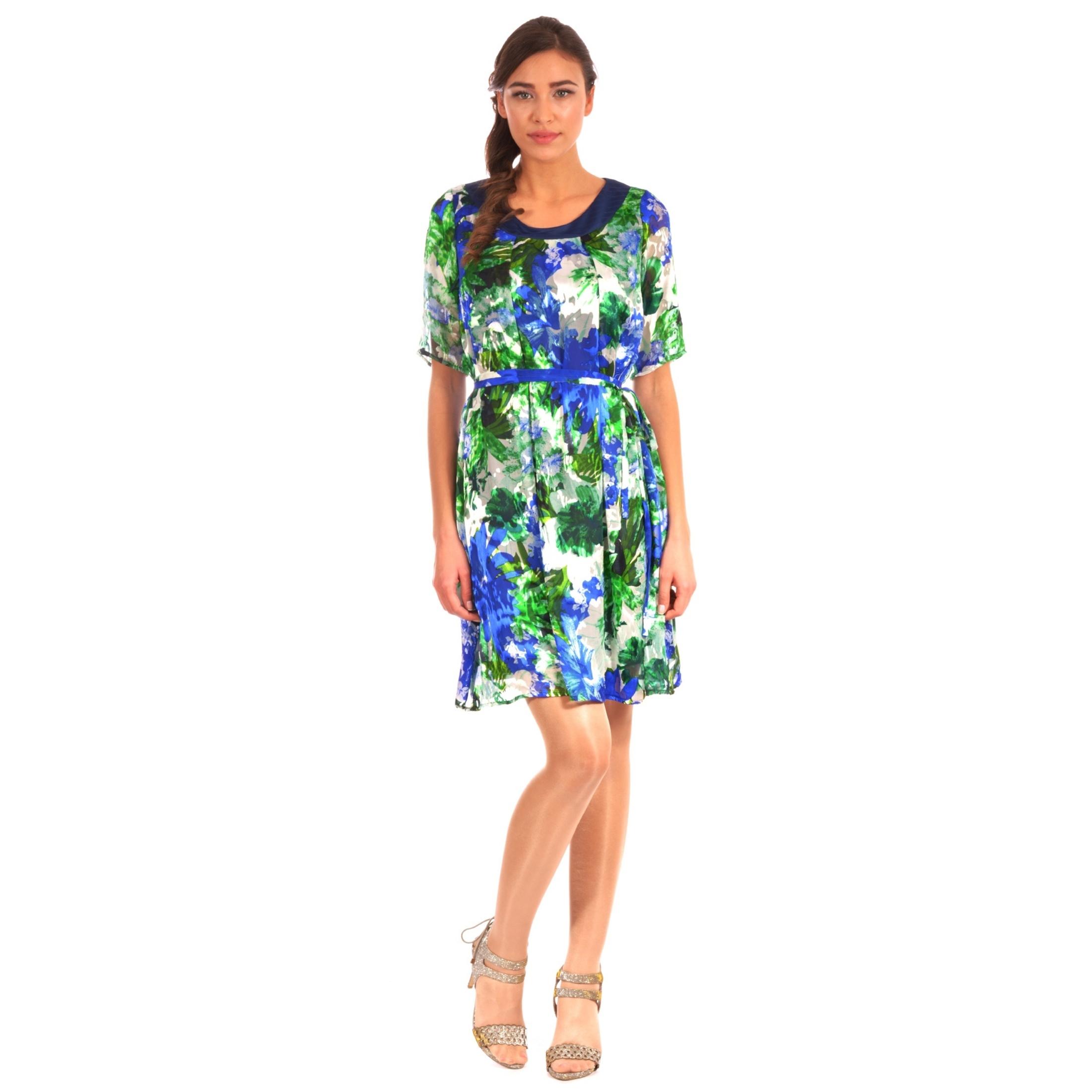 women's short colorful dress, ženska šarena haljina lady m