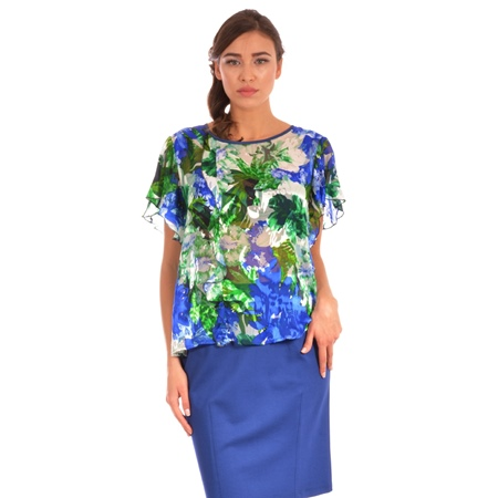 women's colourful top lady m, lady m ženski top