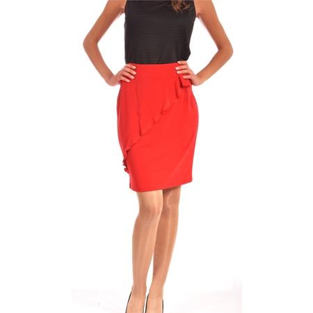 women's red skirt lady m, ženska crvena suknja lady m