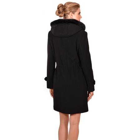ženski kaput lady m crni,women's coat lady m black