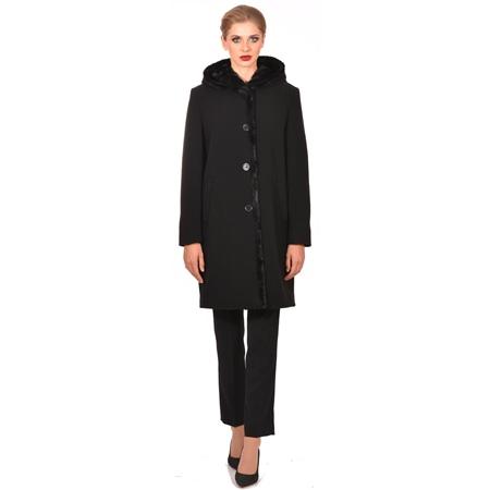 ženski kaput s kapuljačom,women's coat with hood