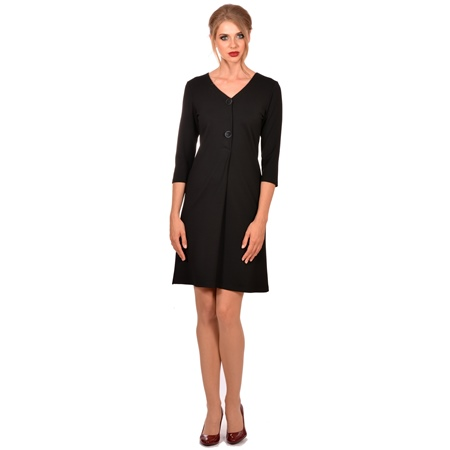 ženska crna haljina, women's black dress