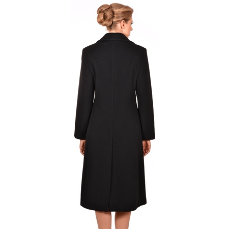 women's classic coat, ženski klasični dugi kaput m woman by maria fashion