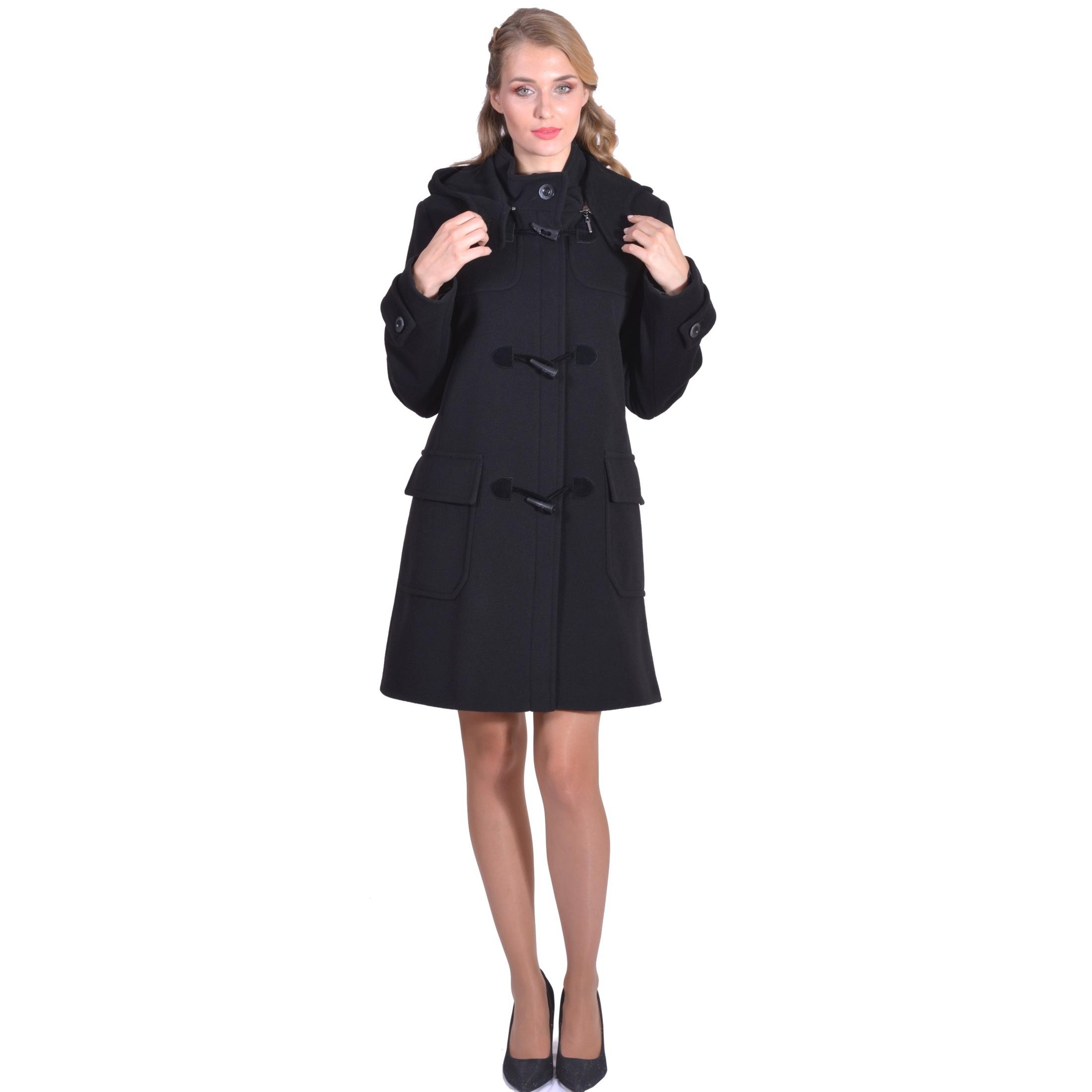 women's montgomery coat,lady m ženski montgomery kaput