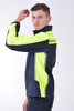 muška jakna soft shell reflektirajuče trake visoka vidljivost. men's jacket soft shell reflective stripes high vision