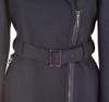 Asymmetrical fastening ,metal zipper